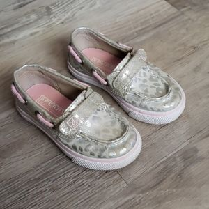 Baby girl Sperry's size 6